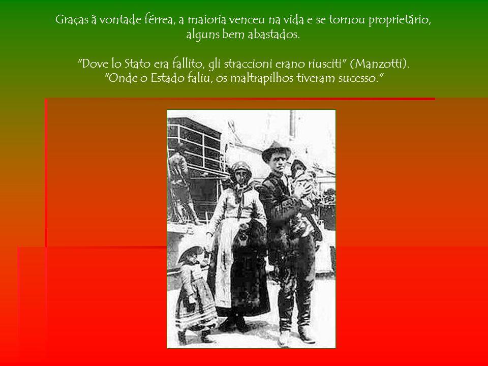 No Brasil, os emigrantes se dirigiram para os Estados do Sul: Paraná, Santa Catarina e Rio Grande do Sul.