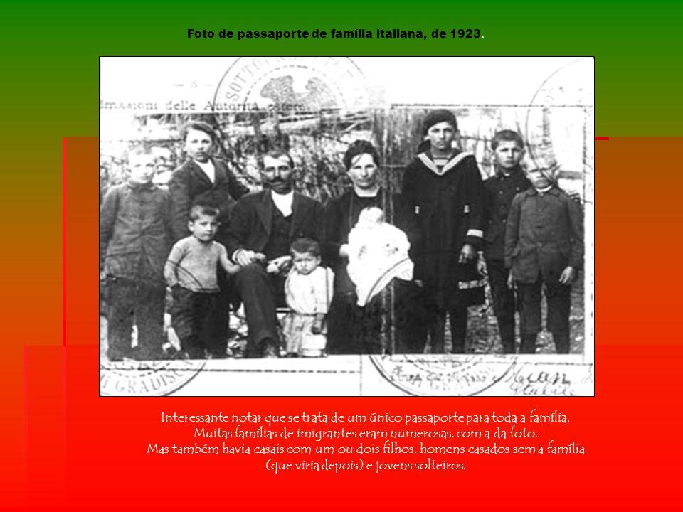 Hospedaria dos Imigrantes – São Paulo Chegada de italianos em uma fazenda em 1880