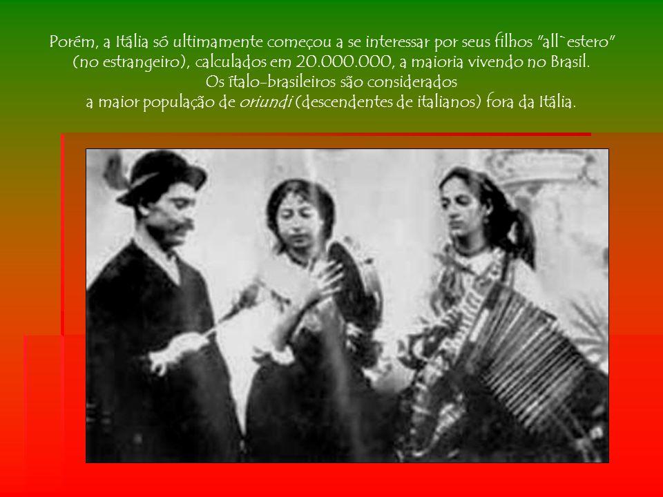A propaganda dos pioneiros aos compatriotas Os primeiros colonos instalados no Brasil escreviam a seus parentes na Europa dizendo: Venham o quanto antes.