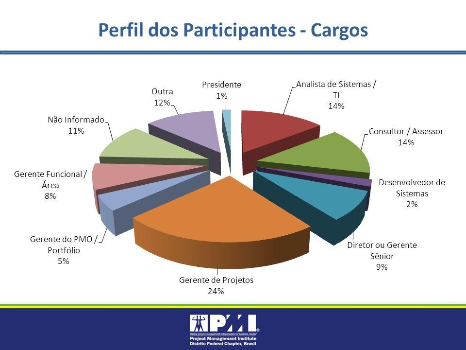Perfil dos Participantes - Cargos