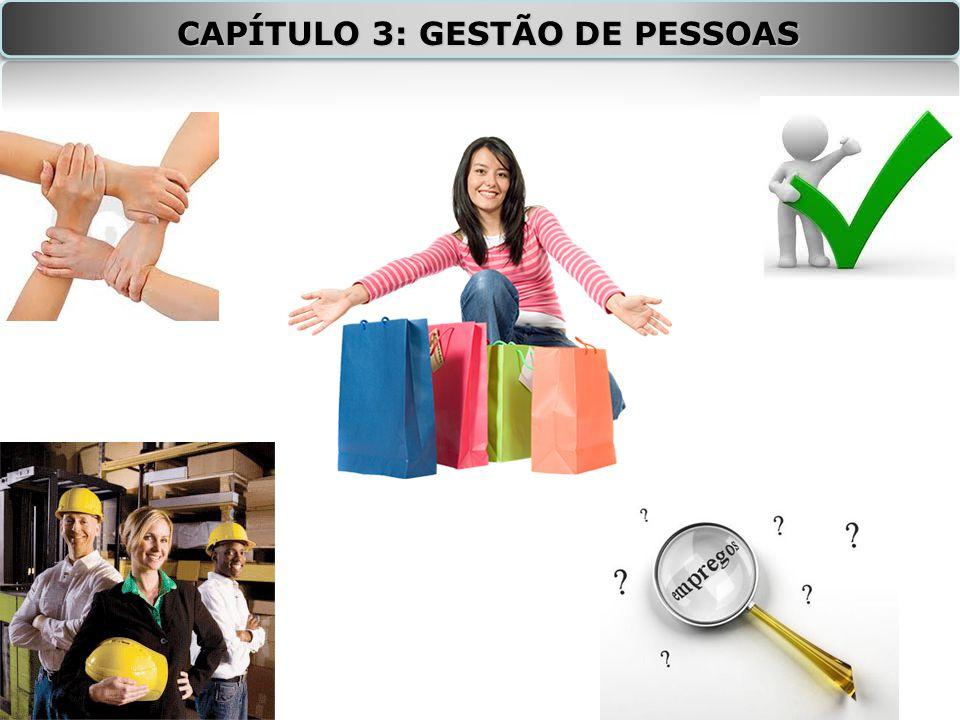 CAPÍTULO 3: GESTÃO DE PESSOAS