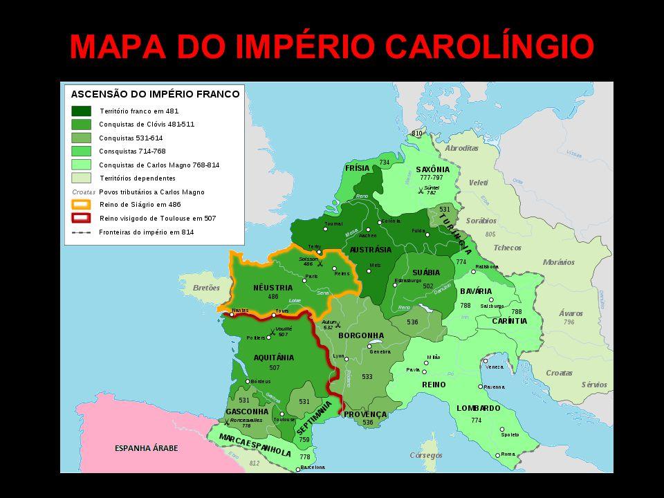 SACRO IMPÉRIO ROMANO-GERMÂNICO O Império Romano havia se dividido no ano de 395 d.c.