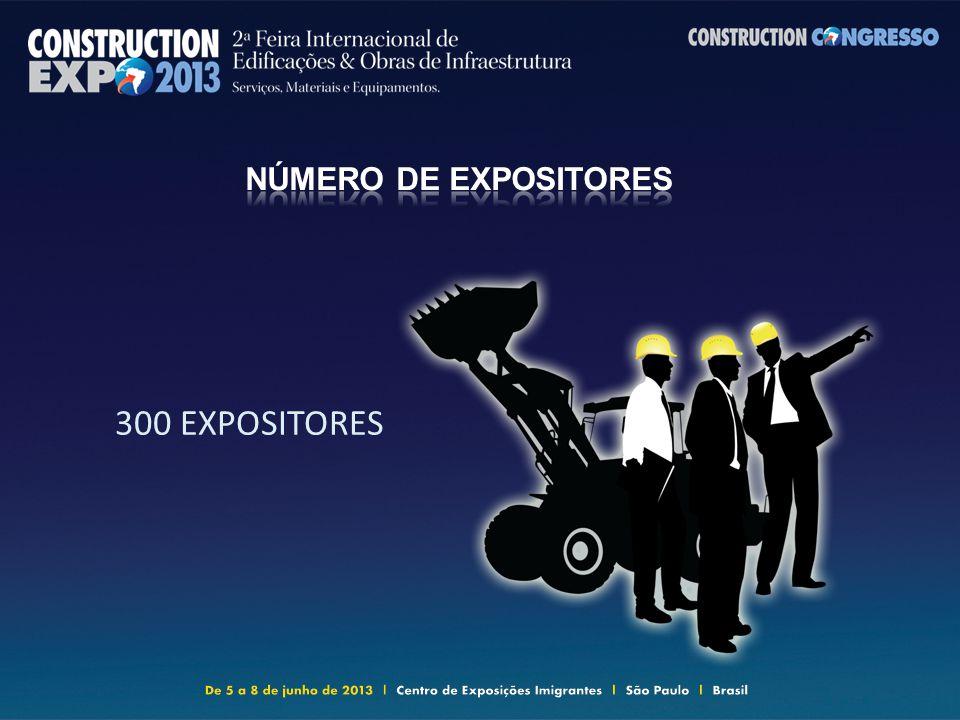 300 EXPOSITORES
