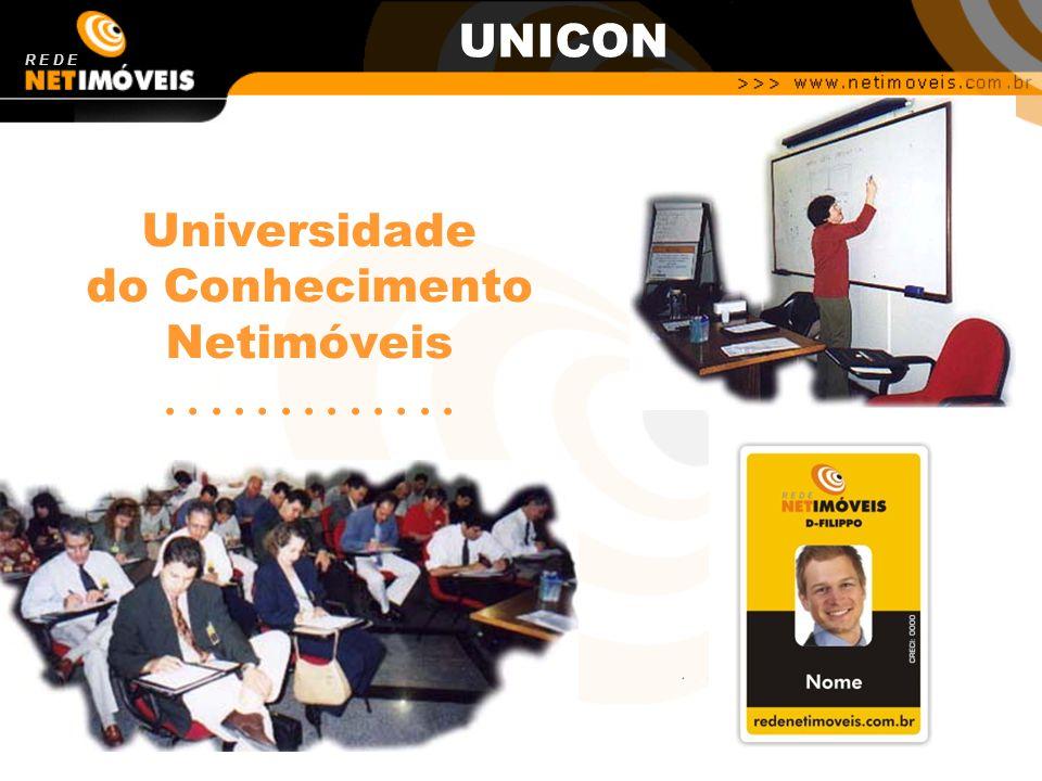 Universidade do Conhecimento Netimóveis............. R E D E UNICON