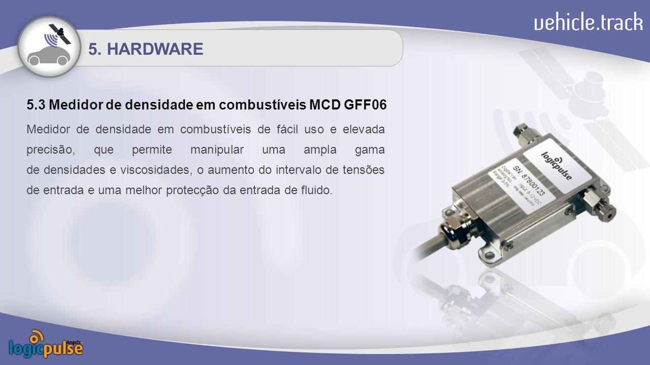 5.3 Medidor de densidade em combustíveis MCD GFF06 5.