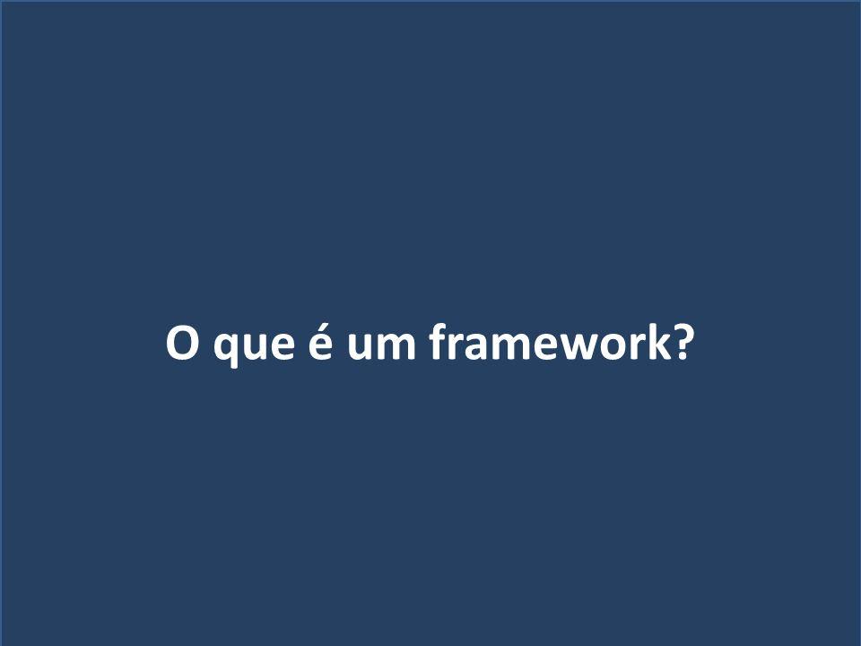 Quem sou eu? O que é um framework?