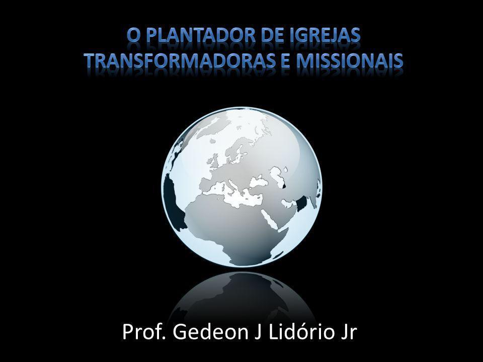 Prof. Gedeon J Lidório Jr