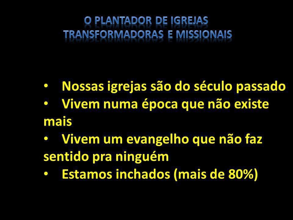 O mundo mudou O Brasil mudou As necessidades mudaram Queremos viver o evangelho do mesmo jeito E sua EMPRESA.