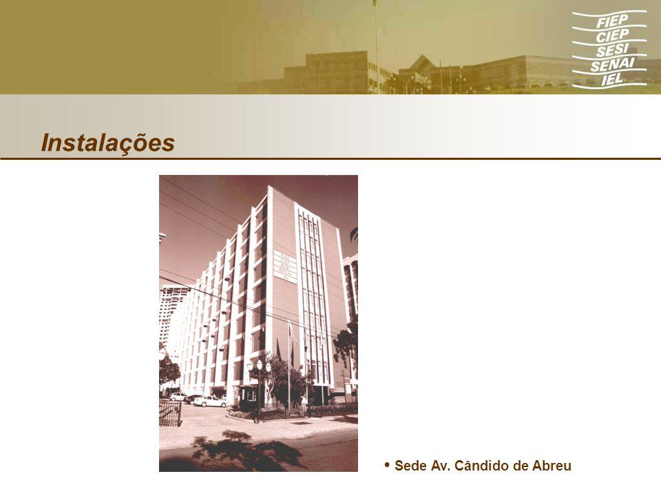 Instalações Sede Av. Cândido de Abreu
