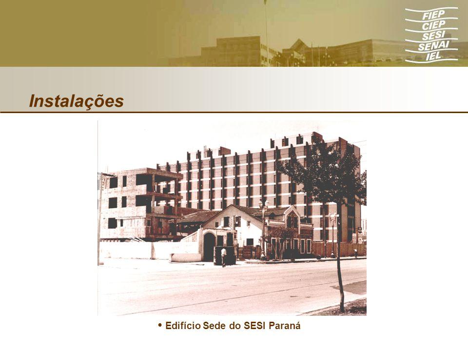 Instalações Edifício Sede do SESI Paraná