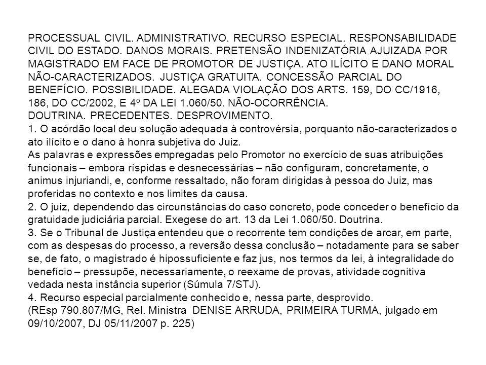 PROCESSUAL CIVIL.ADMINISTRATIVO. RECURSO ESPECIAL.