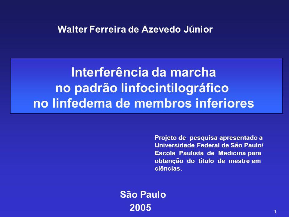 Walter Ferreira de Azevedo Júnior Projeto de pesquisa apresentado a Universidade Federal de São Paulo/ Escola Paulista de Medicina para obtenção do tí