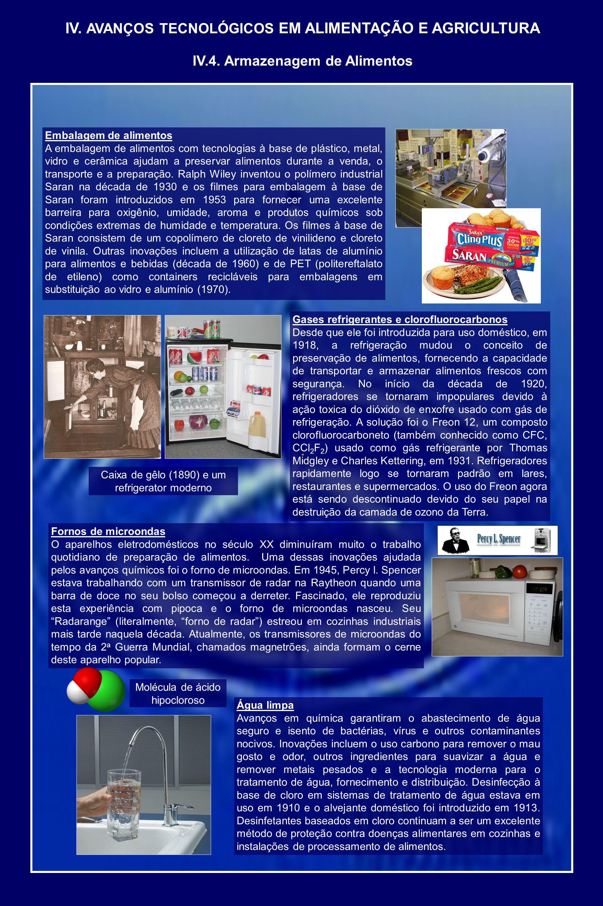 Embalagem de alimentos A embalagem de alimentos com tecnologias à base de plástico, metal, vidro e cerâmica ajudam a preservar alimentos durante a venda, o transporte e a preparação.
