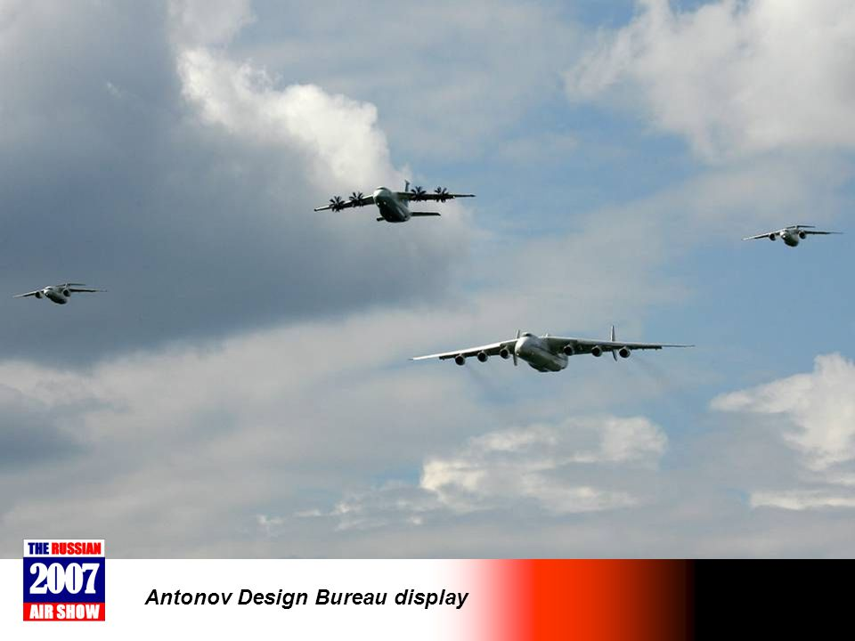 Antonov Design Bureau display