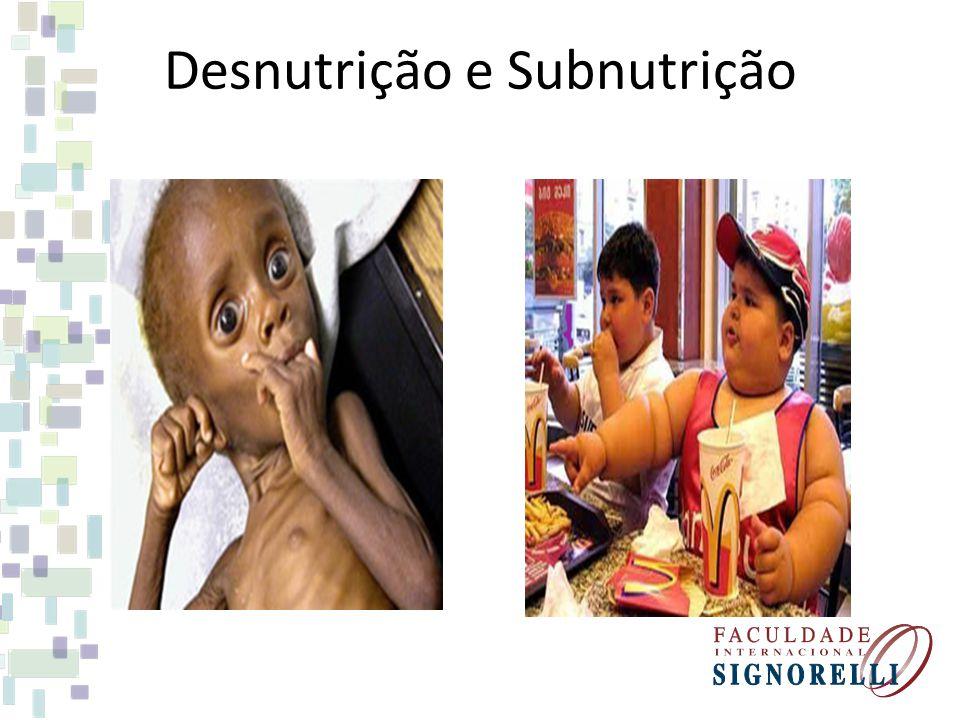 Desnutrição e Subnutrição