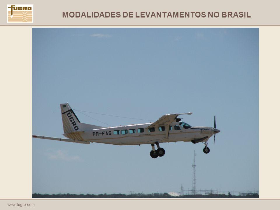 www.fugro.com MODALIDADES DE LEVANTAMENTOS NO BRASIL
