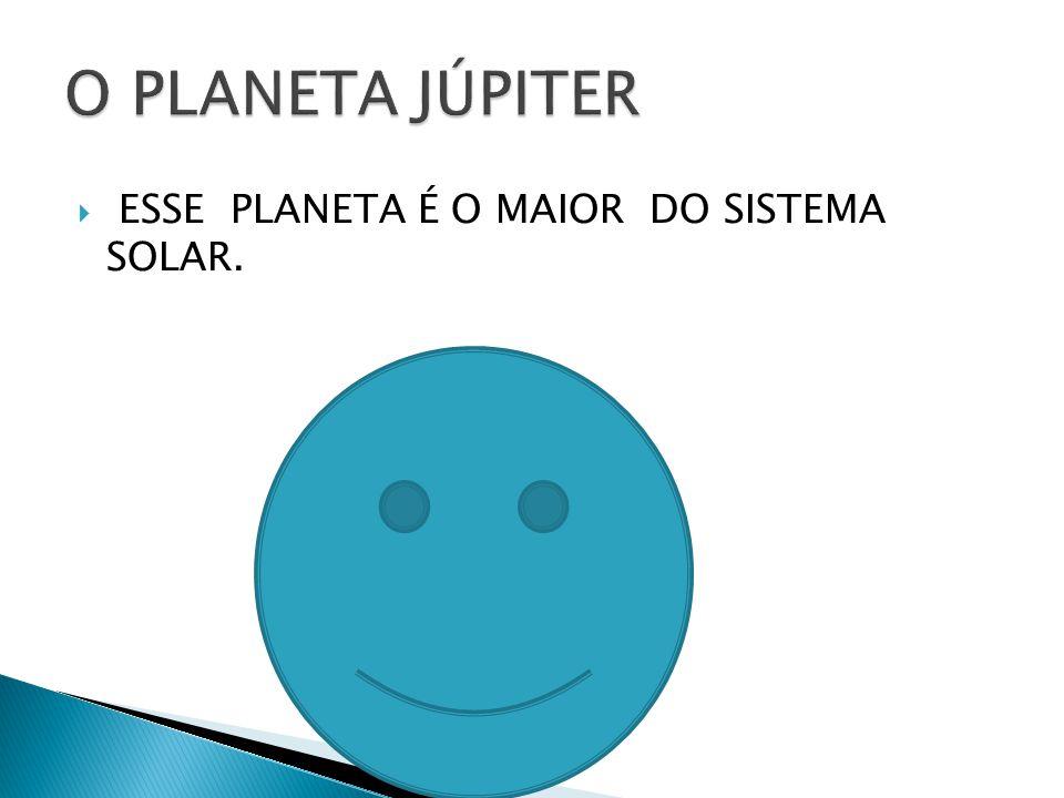 ESSE PLANETA É O MAIOR DO SISTEMA SOLAR.