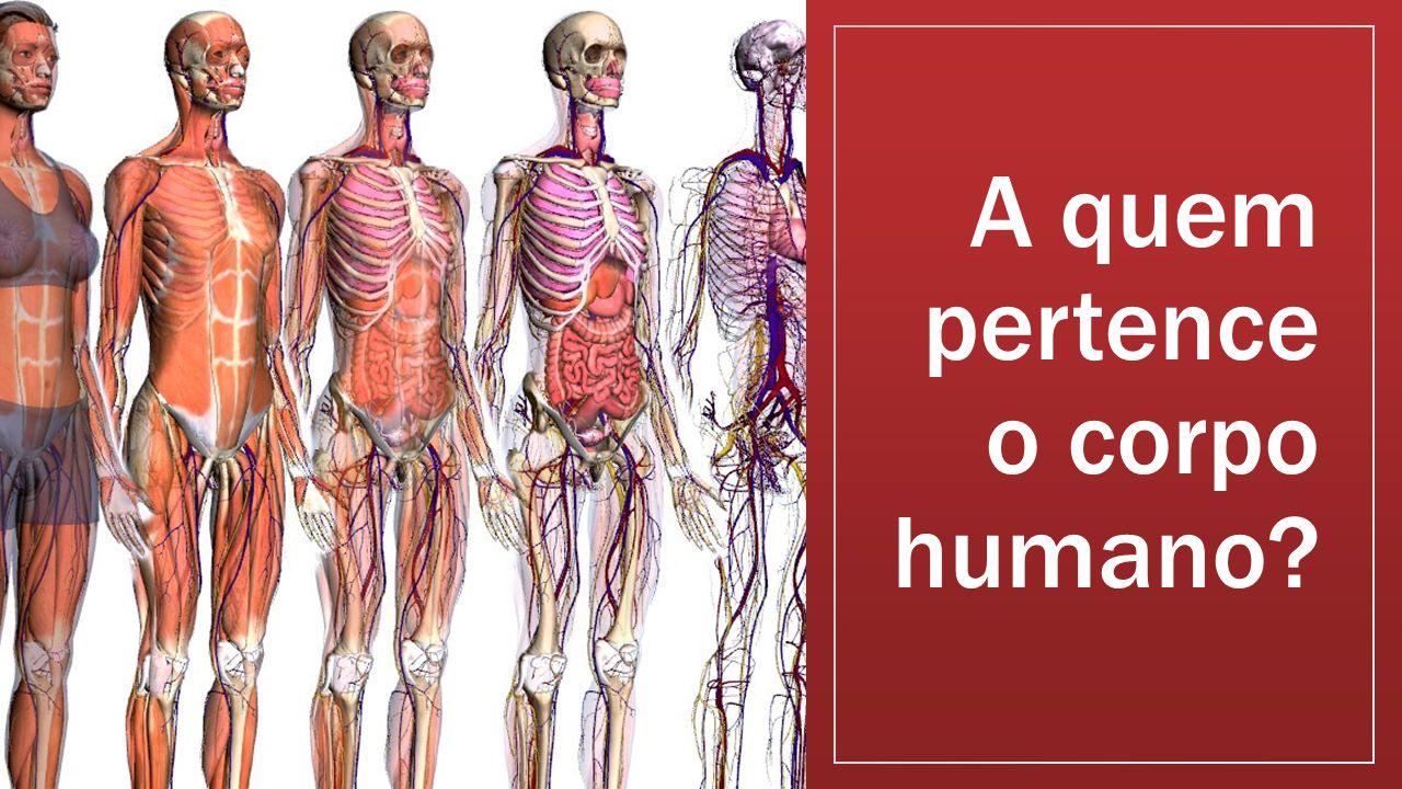 A quem pertence o corpo humano?