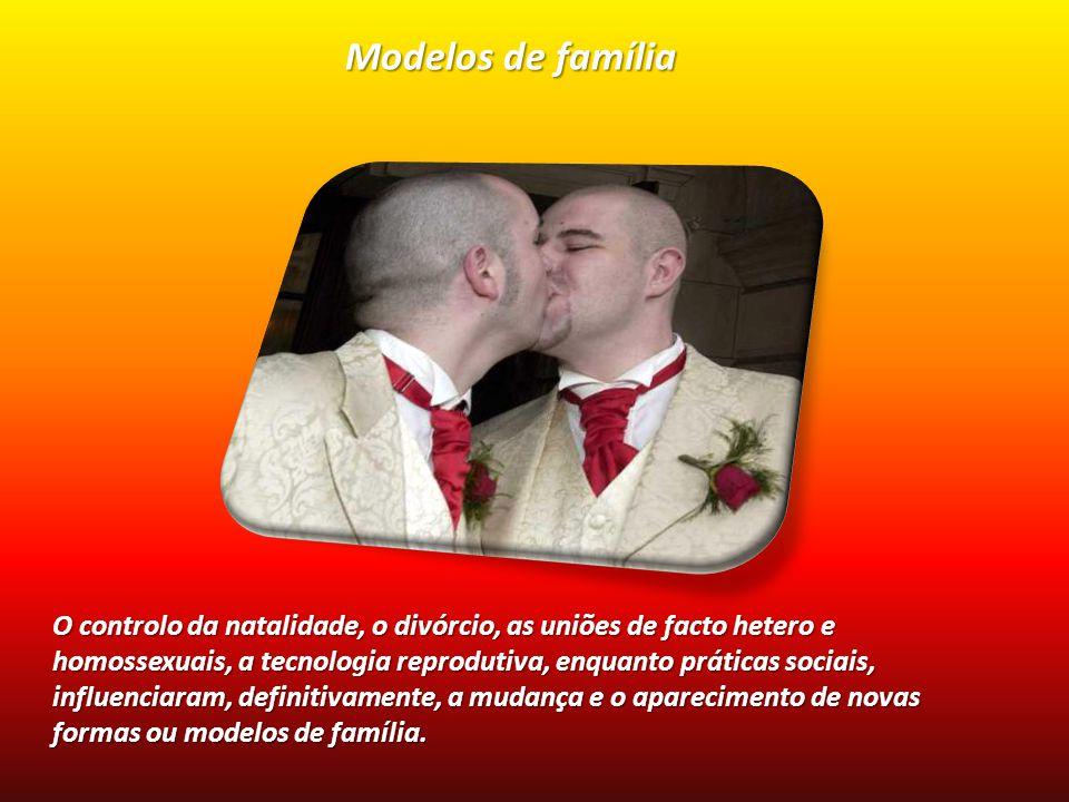 O controlo da natalidade, o divórcio, as uniões de facto hetero e homossexuais, a tecnologia reprodutiva, enquanto práticas sociais, influenciaram, de