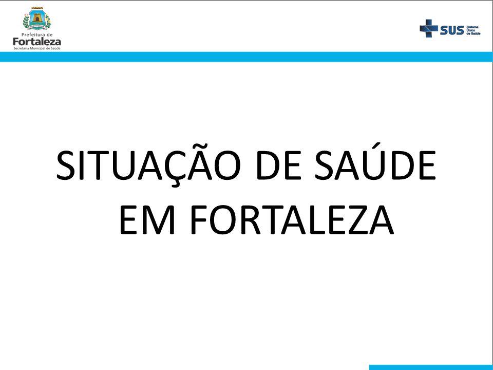 SITUAÇÃO DE SAÚDE EM FORTALEZA
