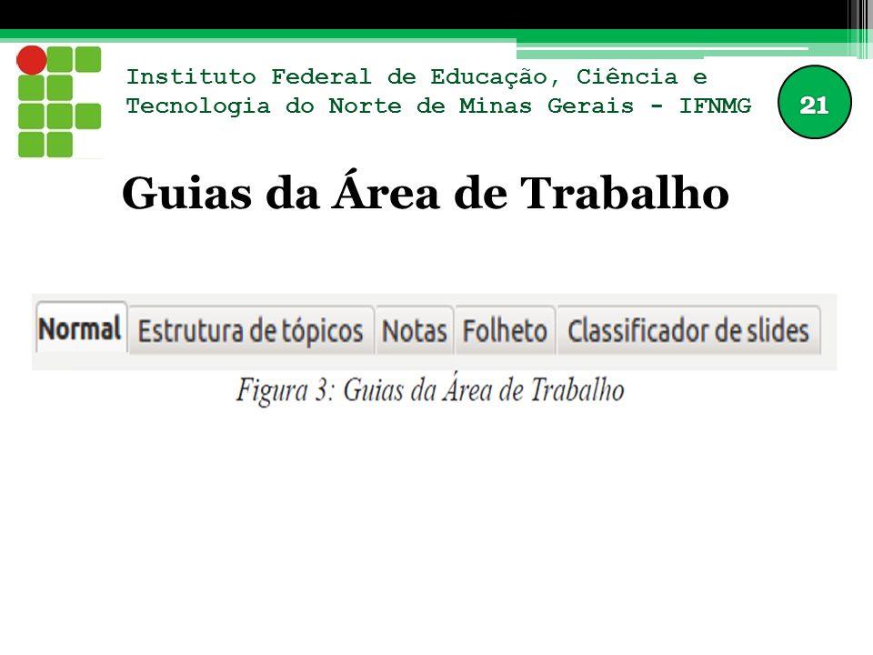 Instituto Federal de Educação, Ciência e Tecnologia do Norte de Minas Gerais - IFNMG Guias da Área de Trabalho
