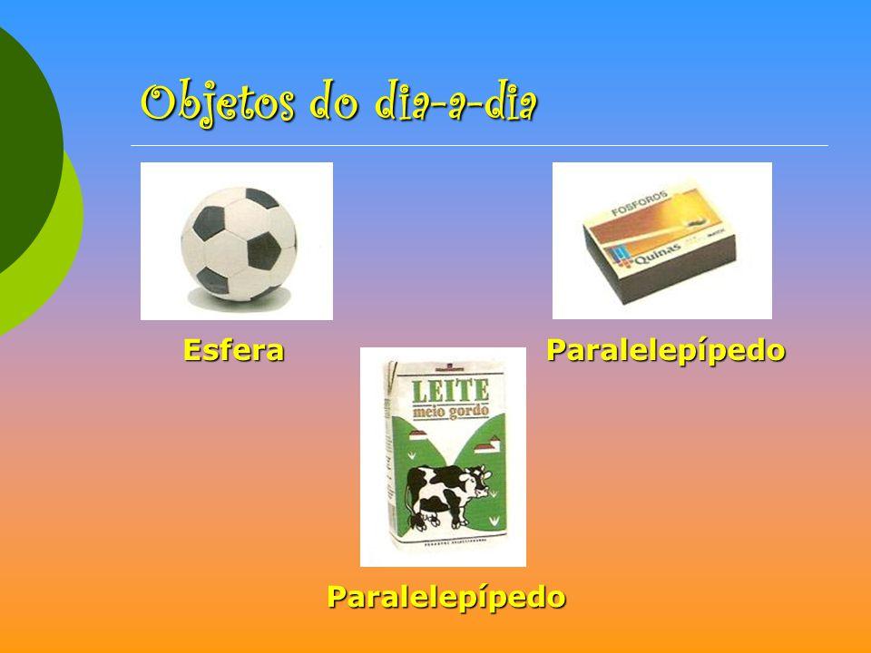 EsferaParalelepípedo Paralelepípedo