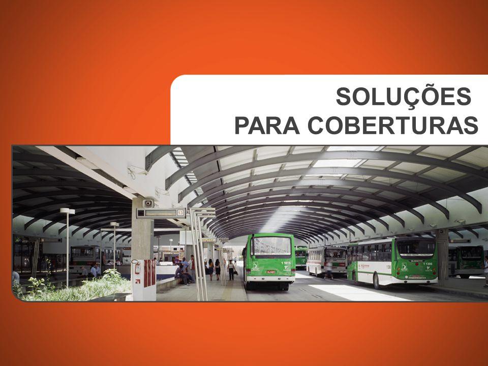 Sistema sanduíche termoacústico com telha inferior LR 17 perfurada, telha superior LR 25 e manta de lã de vidro Aço zincado pré-pintado sistema Color 25 PRODUTO MATERIAL SOLUÇÃO PAULO SOPHIA ARQUITETOS