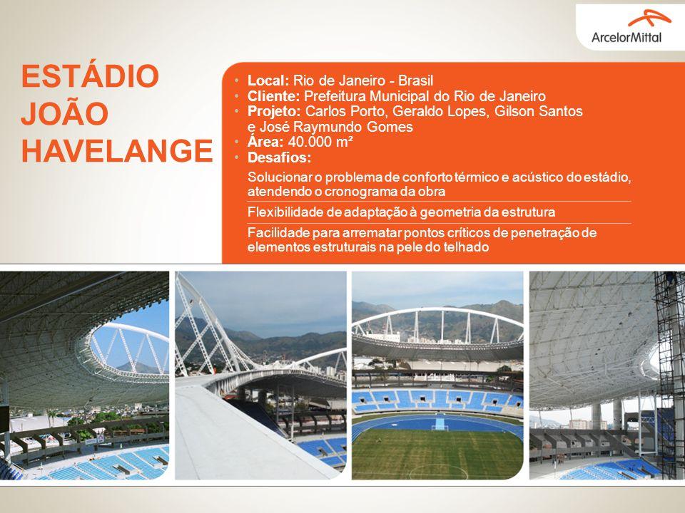 Local: Rio de Janeiro - Brasil Cliente: Prefeitura Municipal do Rio de Janeiro Projeto: Carlos Porto, Geraldo Lopes, Gilson Santos e José Raymundo Gom