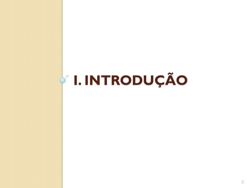I. INTRODUÇÃO 3