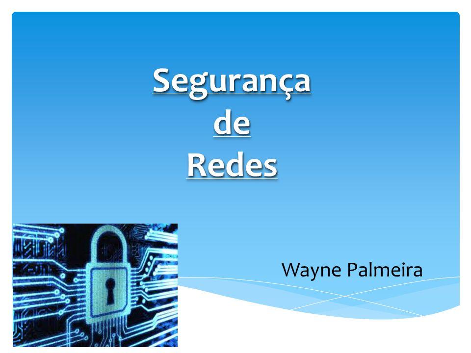 Criptografias em redes Segurança em Redes