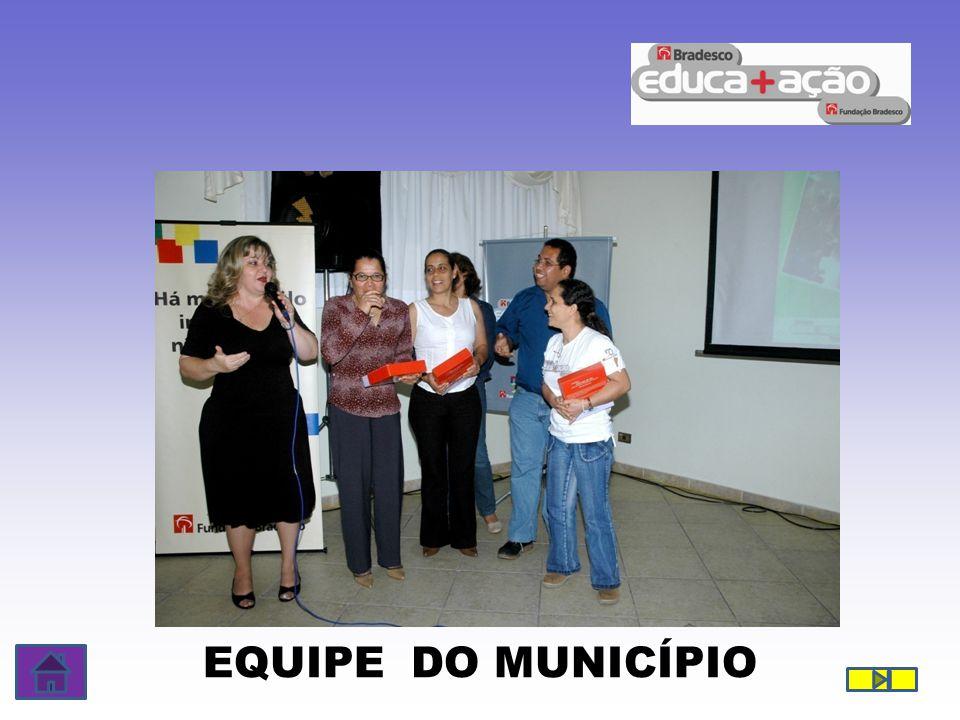 EQUIPE DO MUNICÍPIO