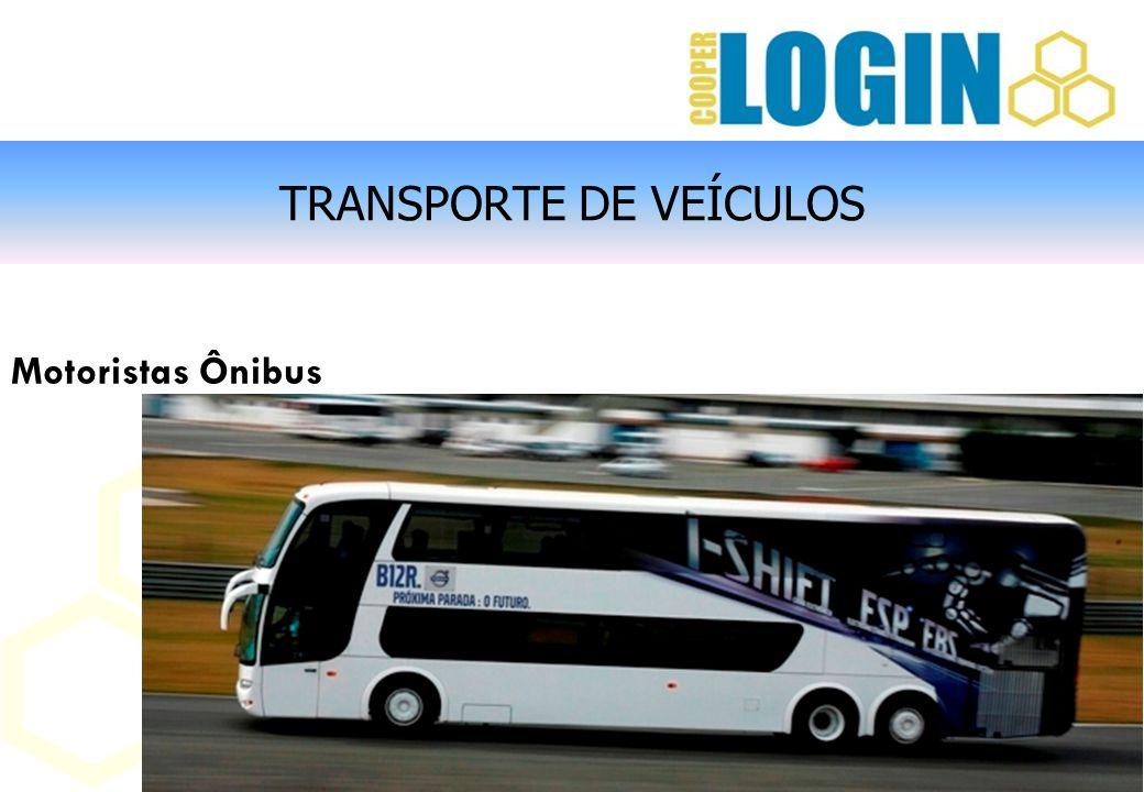 TRANSPORTE DE VEÍCULOS Motoristas Ônibus