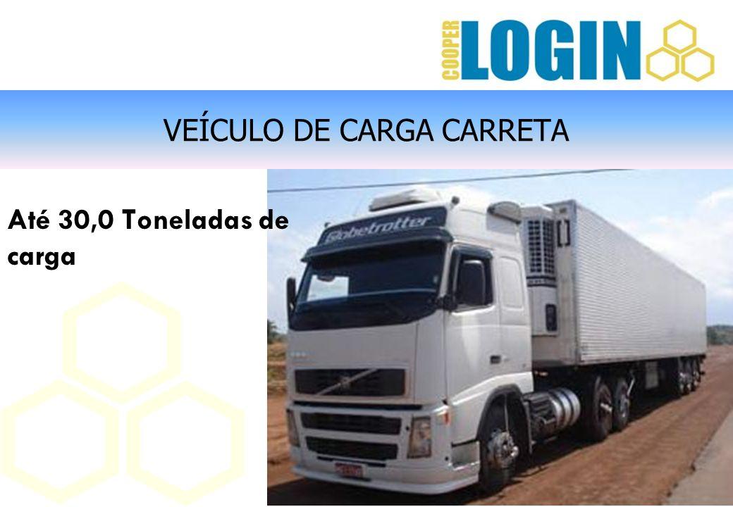 VEÍCULO DE CARGA CARRETA Até 30,0 Toneladas de carga