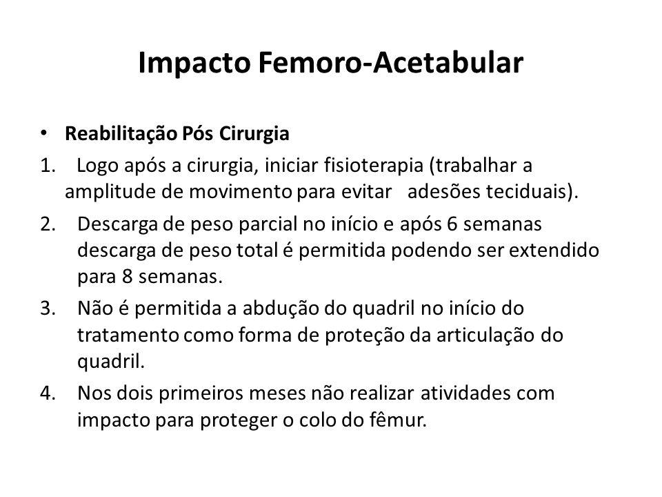 Impacto Femoro-Acetabular Reabilitação Pós Cirurgia 1.