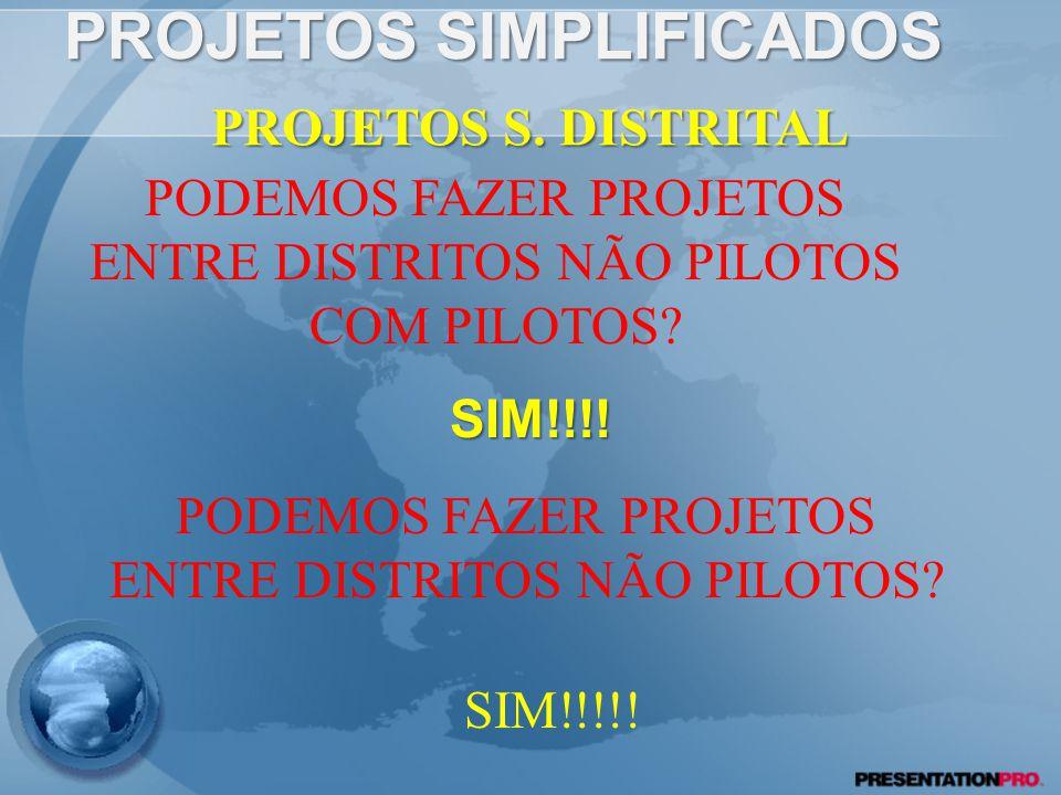 PROJETOS SIMPLIFICADOS SIM!!!.PROJETOS S.
