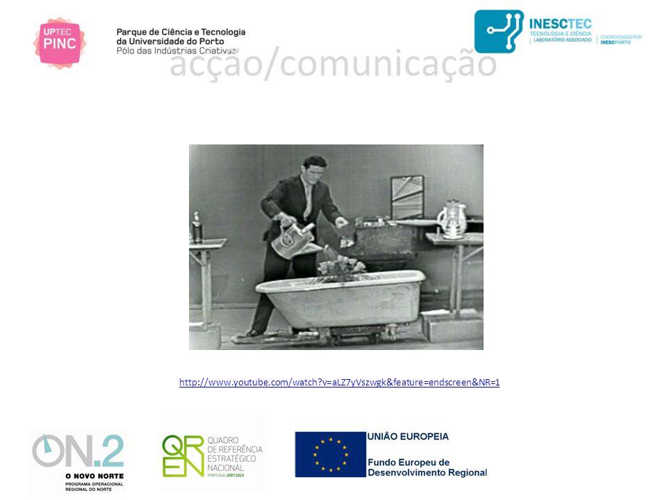 http://www.youtube.com/watch v=aLZ7yVszwgk&feature=endscreen&NR=1 acção/comunicação