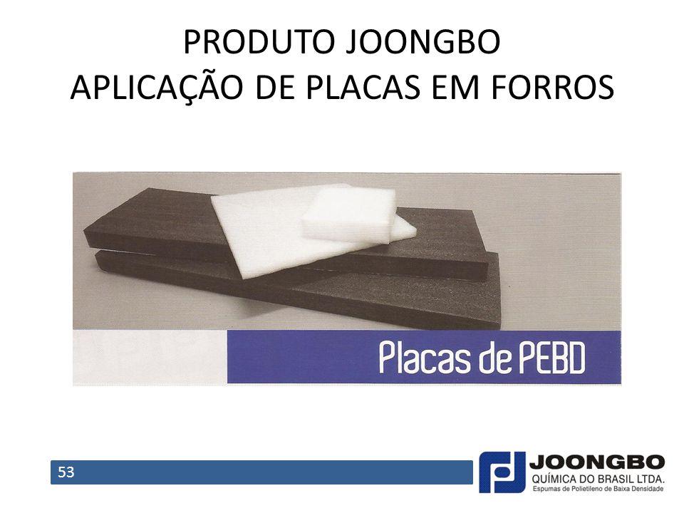 PRODUTO JOONGBO APLICAÇÃO DE PLACAS EM FORROS 53