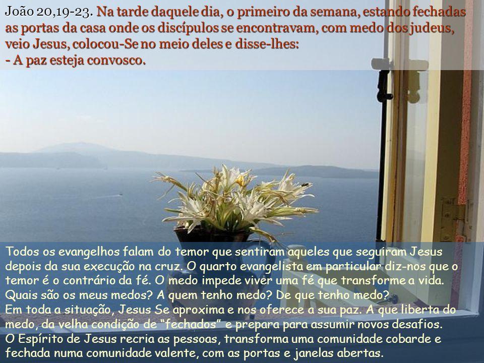 João 20,19-23.