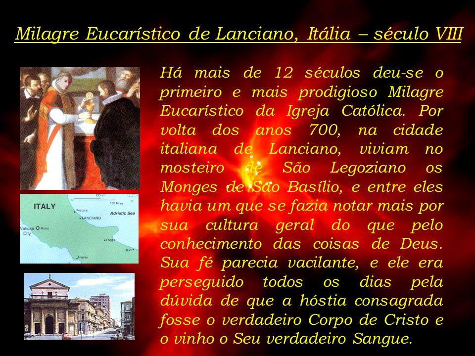 Ao longo da história Nosso Senhor tem nos mostrado que Ele está realmente presente no Santíssimo Sacramento da Eucaristia. De forma significativa muit