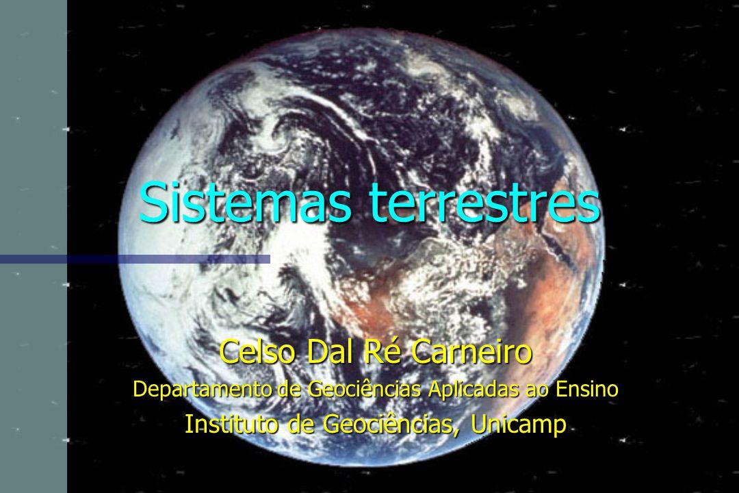 Sistemas terrestres Celso Dal Ré Carneiro Departamento de Geociências Aplicadas ao Ensino Instituto de Geociências, Unicamp