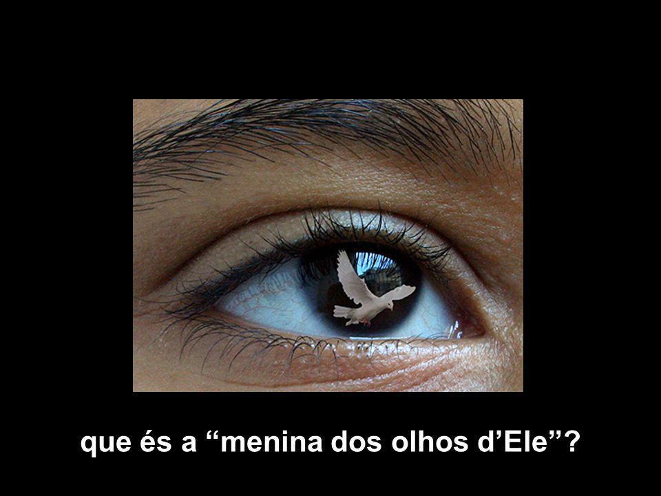 que és a menina dos olhos dEle?