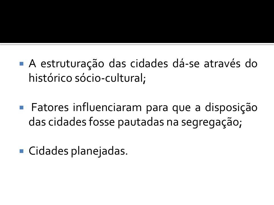 BRASÍLIA Cidades Satélites Plano Piloto Planejamento