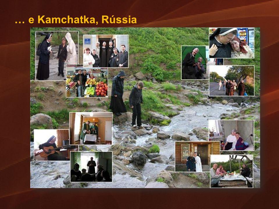 … e Kamchatka, Rússia