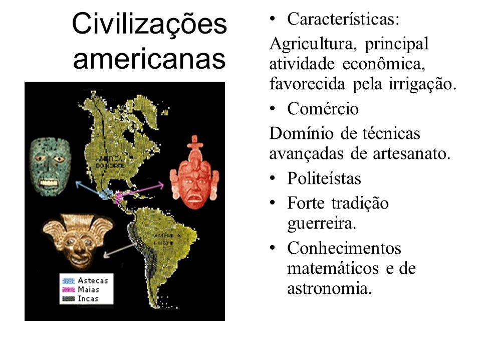 Muito antes das civilizações dos Astecas, Maias e Incas, haviam outras culturas que povoaram e contribuíram para as transformações sociais que aconteceram no continente americano.