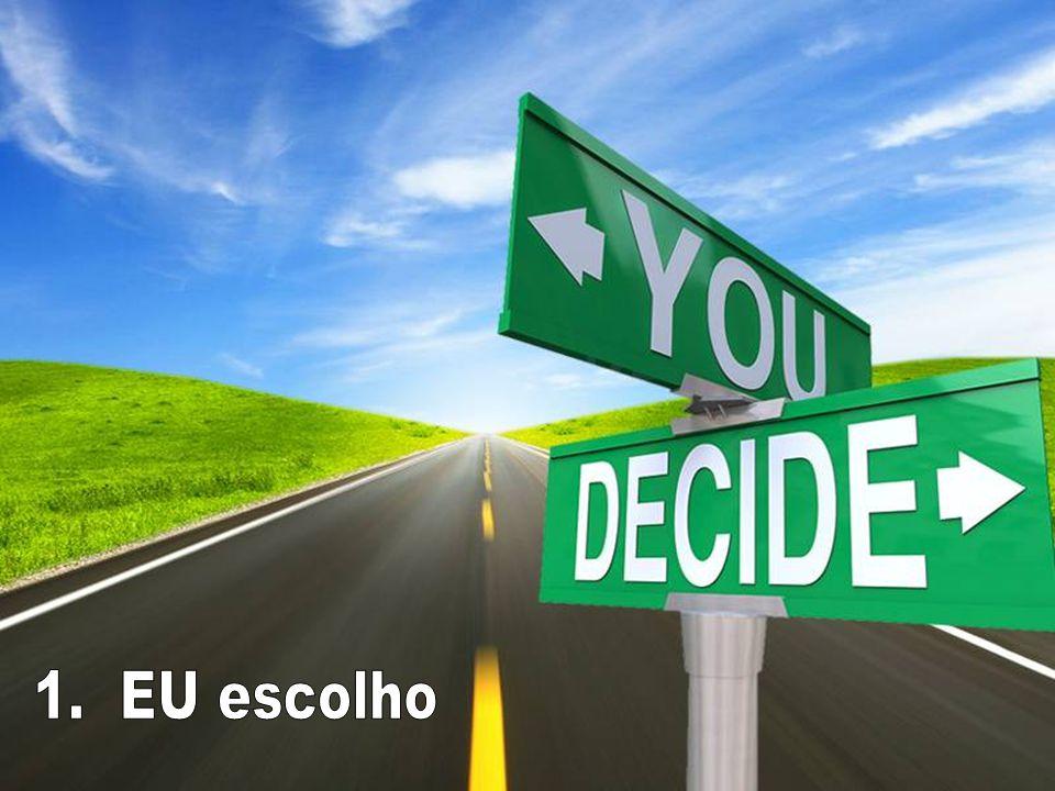 Quais os critérios que você usa para fazer escolhas em áreas como....