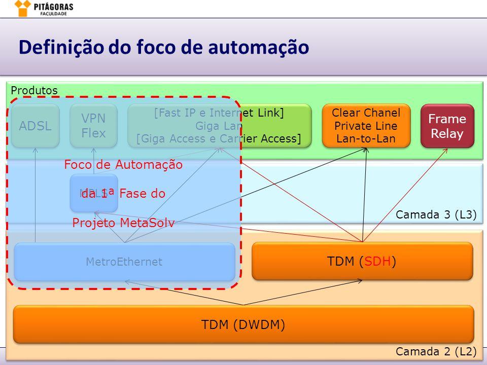 Márcio Moreira6. BSC – Implementação & Gestão – slide 32Planejamento & Gestão de Performance - PGP Definição do foco de automação Produtos Camada 2 (L