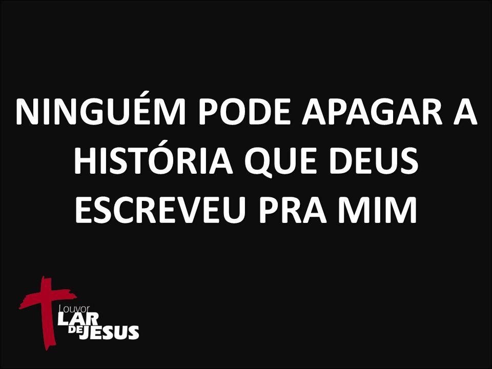 CONFIO NA PROMESSA E SIGO ATÉ O FIM NO MEIO DA JORNADA QUANDO PENSO EM DESISTIR