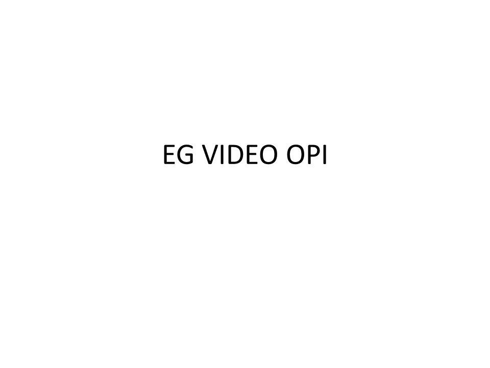 EG VIDEO OPI