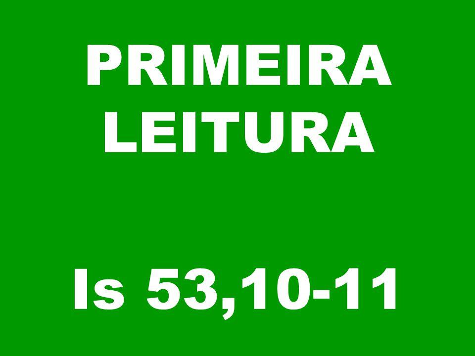 PRIMEIRA LEITURA Is 53,10-11