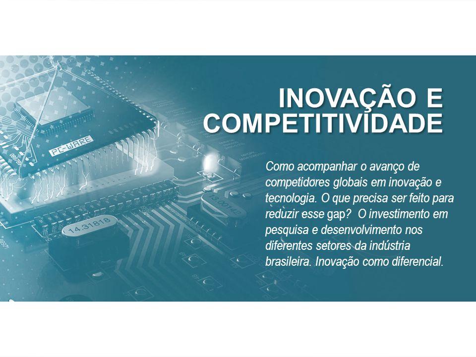 Como acompanhar o avanço de competidores globais em inovação e tecnologia.
